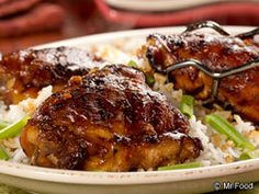 Penny-Pinching Teriyaki Chicken....mrfood.com