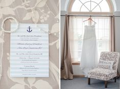 Navy Blue and Mint Green Beach Wedding / Tidewater and Tulle | A Virginia Wedding Blog