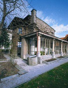 Home of Joze Plecnik: One of my favorite architects.