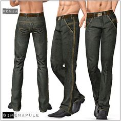 Simenapule Jeans for males by Ronja - Sims 3 Downloads CC Caboodle