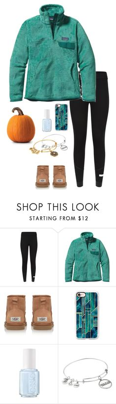 """""""Day 5: pumpkin carving🎃"""" by eadurbala08 ❤ liked on Polyvore featuring adidas, Patagonia, Casetify, Essie, Alex and Ani and paigespumpkinpatch"""