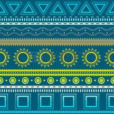 Tribal Rayas Sin Patrón. Fondo Azteca. Los Colores Suaves. Puede ... Scrapbook Paper, Scrapbooking, Periodic Table, Mandala, Diagram, Prints, Diy, Backgrounds, Patterns