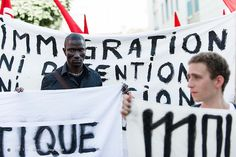 MyFrenchLife™ - refugees in Calais - manifestation