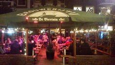 At the biertuin ( beer garden ) you have a wide choice of beer, tasty lunch dishes, all kinds of snacks in the evening and six classic dishes, including their specialty: chicken from the spit. The long beer tables stand outside all year round! http://www.debiertuin.nl/