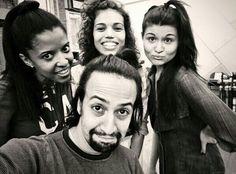Hamilton and the LADIEEES!