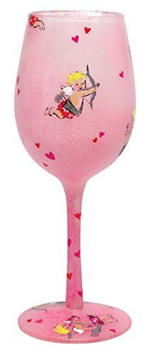 Lolita Cupid's Party Wine Glass Retired - Beverage Vino Bar GLS11-5535C *** Find out more about the great product at the image link.