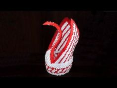 3D origami big swan assembly diagram (tutorial, instructions)