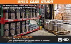 #MaterialHandling Do you have hard to store items such as buckets, barrels or kegs? Check out UNEX's Heavy Duty Span Track. http://www.wprpwholesalepalletrack.com