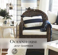Oceanhouse - Handgebaute Möbel aus Schweden im Hamptons-Stil