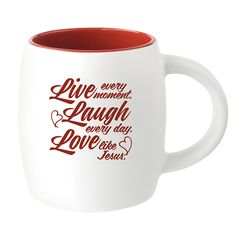 Live, Love, Laugh Mug