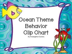 There are 2 headers to choose from that ask How is your behavior?FantasticGreat JobReady To LearnGood DaySlow DownThinkParent ContactOther ocean theme items:  Other Ocean Theme Items:Ocean Theme Behavior Clip ChartOcean Theme Classroom RulesOcean Theme Desk PlatesOcean Theme Schedule CardsOcean Theme Word Wall and WordsOcean Theme Number Posters