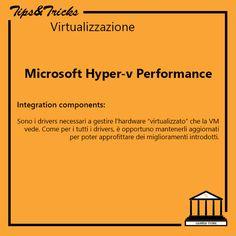 Tips&Tricks Virtualizzazione: Microsoft Hyper-v - Components