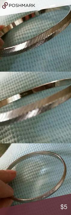 Monet bracelet Silver Monet bracelet feathered facade. Monet Jewelry Bracelets