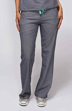 Womens Kade Cargo Scrub Pants-Graphite