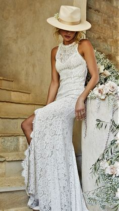 White Gown Dress, White Gowns, Italy Wedding, Wedding Bride, Wedding Gowns, Lace Outfit, Dressed To The Nines, Gowns Of Elegance, Yes To The Dress