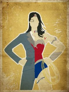 Wonder Woman by Danny Haas