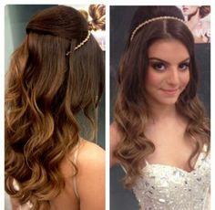 Penteado princesa para noivas!