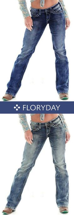 fa30c7d476e7fc Straight Cotton Jeans Pants & Leggings, straight pants, fashion pants,  cotton, jeans