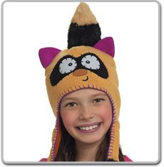 Ranger Racoon Flipeez hat. They carry these in the stores you don't have to order from the website. First choice is the Racoon, second the kitty.