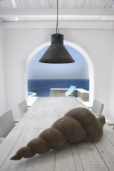 Home tour: Villa Mina One ☆ Mykonos ☆ Grecia Mykonos Villas, Mykonos Greece, Mykonos Island, Santorini, Coastal Homes, Coastal Living, Greek House, Mediterranean Style, Mediterranean Houses