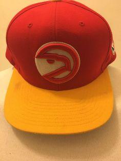 cd317e8e26461 Atlanta Hawks Mitchell   Ness Hardwood Classics SnapBack Hat