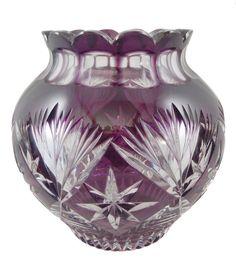 Vase mit Überfang, Entw. Siegfried Haertel, Josephinenhütte um 1935 175,-+0