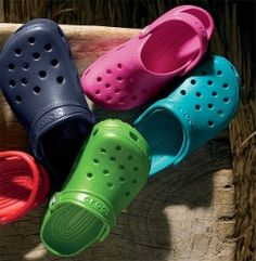 I love my Crocs....I really don't care if you like them or not....my feet are happy....