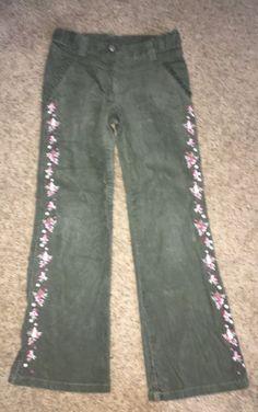 46d5cf8718b38 Gymboree Vintage Girl Detective Green Cords Corduroy Pants Size 7 GUC  scotty dog #fashion #