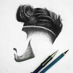 _ I don't know who paint it!! _ #hair #stile #hairstyle #hairstylist #hairModel #model #haircut #haircutting #slemani #kurdistan#post #ny #nyc #lv #ls #la #barber #kurdishBoy by alangharib