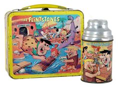 "Vintage ""Aladdin"" lunch box from 1964."