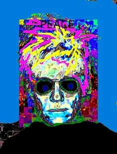 Andy Warhol 08 by StephenPeace on Etsy, $100.00
