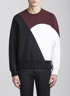 Crew Neck Bonded Sweatshirt 3 1196