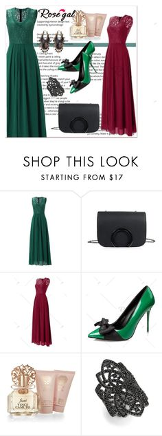 """""""Rosegal lady style"""" by newoutfit ❤ liked on Polyvore featuring Vince Camuto, Noir and Alexander McQueen"""