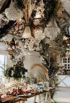 The stylistics of the boho wedding is easy to create and it is so beautiful. We have collected the best bohemian wedding ideas for your inspiration. Boho Wedding Decorations, Wedding Themes, Wedding Styles, Wedding Ideas, Bohemian Wedding Theme, Natural Wedding Decor, Bohemian Chic Weddings, Boho Theme, Wedding Vows