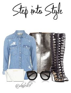 """""""."""" by danielle-sierra ❤ liked on Polyvore featuring MSGM, Topshop, Paul Andrew, Prada and MICHAEL Michael Kors"""