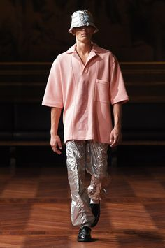 top - and maybe trousers - // Asger Juel Larsen Copenhagen Spring 2017 Fashion Show