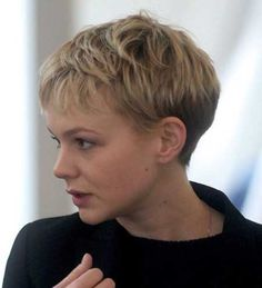 2013 Pixie Hair Trends Curl with curling iron? Mangle up with some light foam gel stuff? gel stuff and simple pin curls, maybe 4? longer back and sides?