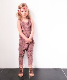 Soft Gallery jumpsuit by Orange Mayonnaise at Kindermodeblog post