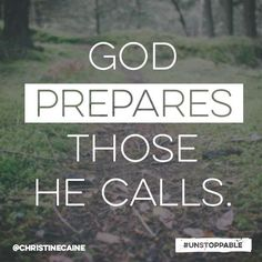 From Christine Caine