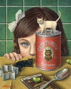Shiori Matsumoto-Cat's tongue consomme #cats