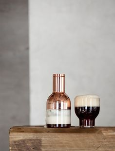 Beer Foamer, Stackable Glass 27 Cl Design by Norm Architects