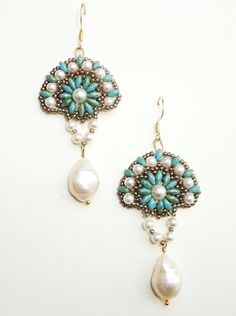 Swarovski Crystal -Perlen, Süßwasserzuchtperlen -Tropfen, Toho-Rocailles, Twin Beads