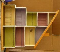 Casitas cart n on pinterest doll houses cardboard - Manualidades con cajas de zapatos ...