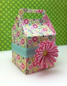 tags bags boxes more photo | The new Tags, Bags, Boxes and More 2 Cricut cartridge square gable box ...