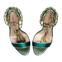 Reiss wedding shoes - Teal.