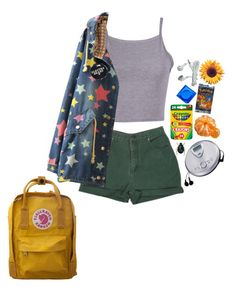 """9:00am"" by unwriteable ❤ liked on Polyvore featuring Fjällräven, Sony, Chicnova Fashion and CO"