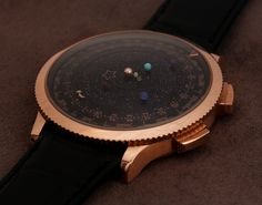 Van Cleef and Arpels Complication Poetique Midnight Planetarium Watch Hands-On