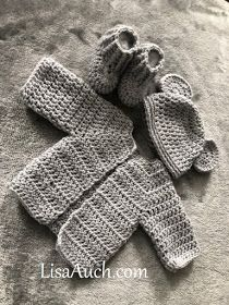 FREE crochet Patterns for Hat Cardigan and booties Crochet Baby Cardigan Free Pattern, Crochet Baby Sweaters, Newborn Crochet Patterns, Baby Sweater Patterns, Crochet Baby Clothes, Easy Crochet Patterns, Baby Patterns, Baby Knitting, Free Crochet