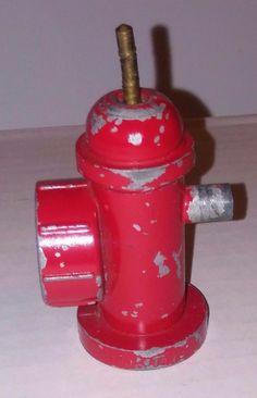 VINTAGE ORIGINAL TONKA FIRE HYDRANT FOR TONKA FIRE TRUCK 1950'S  FIRE PUMPER #Tonka