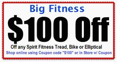 Spirit Fitness products sold at Big Fitness Spirit Coupon, Fitness Stores, Fitness Products, No Equipment Workout, Big